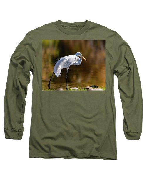 Egret Yoga Long Sleeve T-Shirt