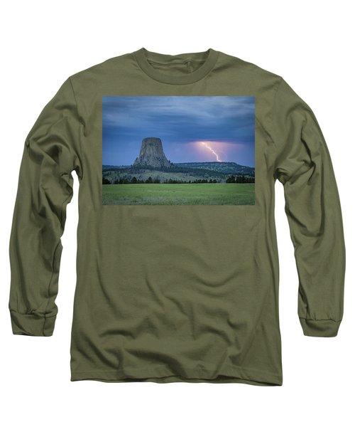 Electrifying Night Long Sleeve T-Shirt