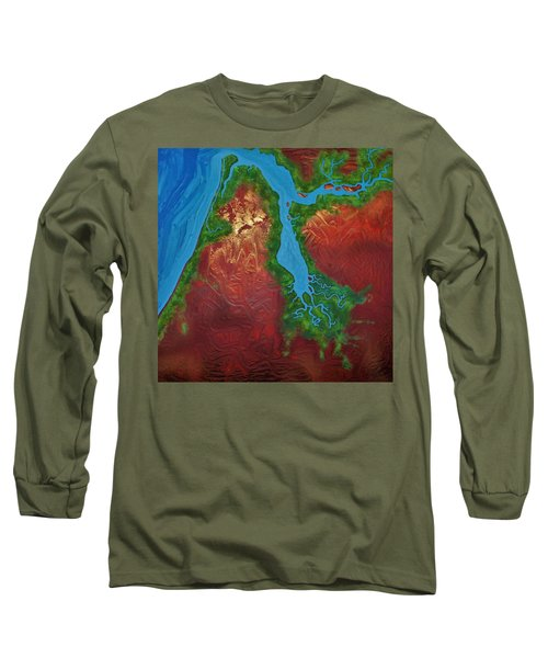 Embly And Hay Rivers Long Sleeve T-Shirt