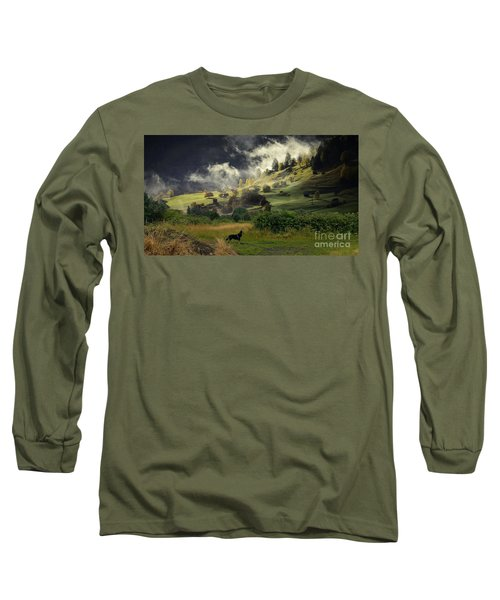 English Courtryside Long Sleeve T-Shirt