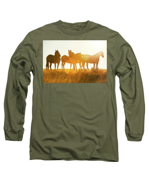 Equine Glow Long Sleeve T-Shirt