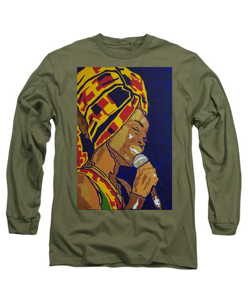 Erykah Badu Long Sleeve T-Shirt