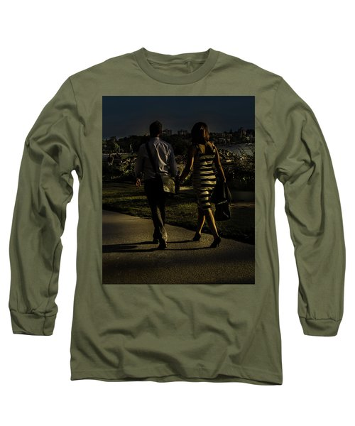 Evening Walk Long Sleeve T-Shirt