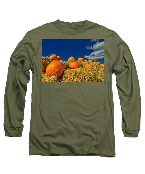 Fall Pumpkins Long Sleeve T-Shirt