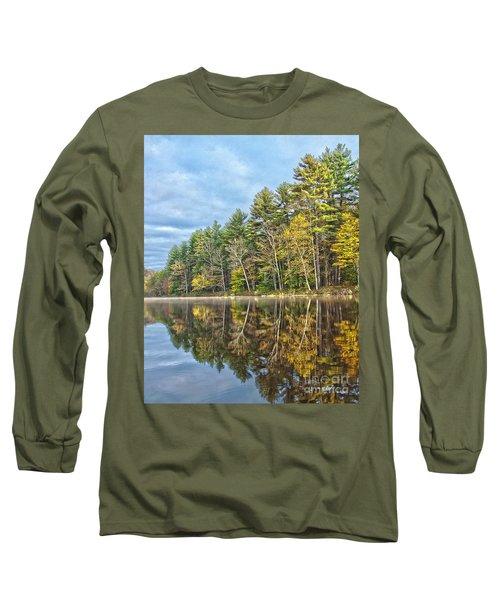 Fall Reflection Long Sleeve T-Shirt