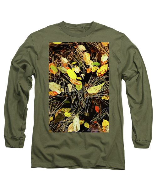 Fallen Leaves Long Sleeve T-Shirt