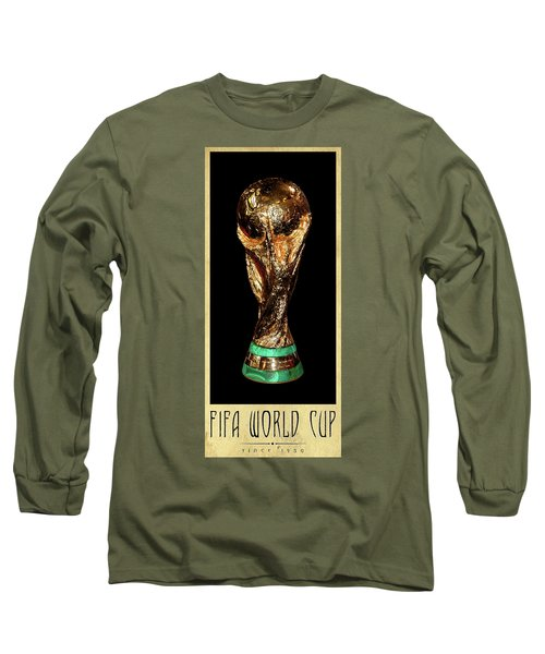 Fifa World Cup Trophy Long Sleeve T-Shirt