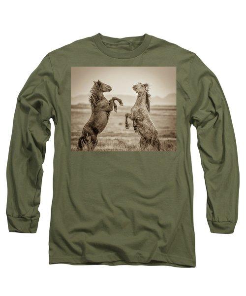 Fighting Stallions 2 Long Sleeve T-Shirt