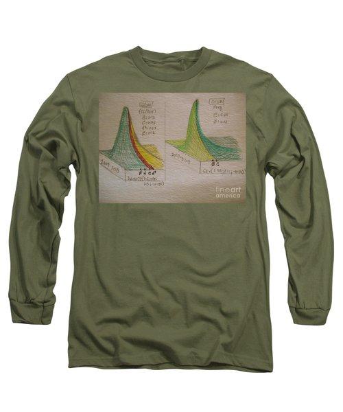 Financial Visual 3d Qcom 2018 Long Sleeve T-Shirt