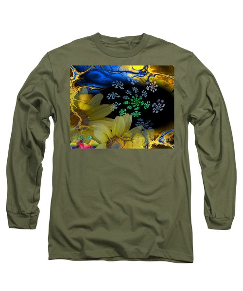 Flower Power In The Modern Age Long Sleeve T-Shirt