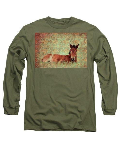 Flowery Foal Long Sleeve T-Shirt