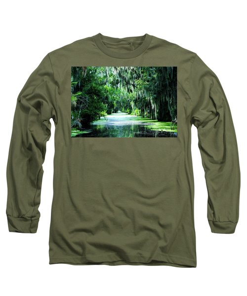 Flush With Green Long Sleeve T-Shirt