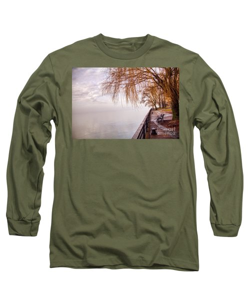 Foggy Niagara Long Sleeve T-Shirt