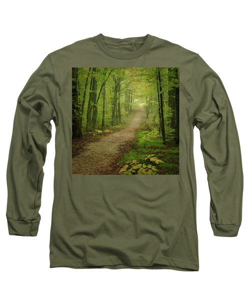 Foggy Path Long Sleeve T-Shirt