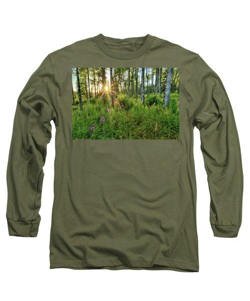 Forest Growth Alaska Long Sleeve T-Shirt