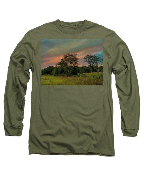 Pine Lands In Friendship Sunrise Long Sleeve T-Shirt