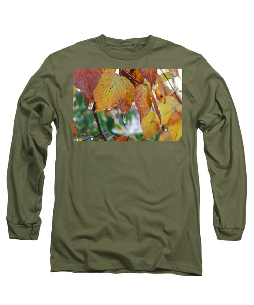 Icy Foliage Long Sleeve T-Shirt
