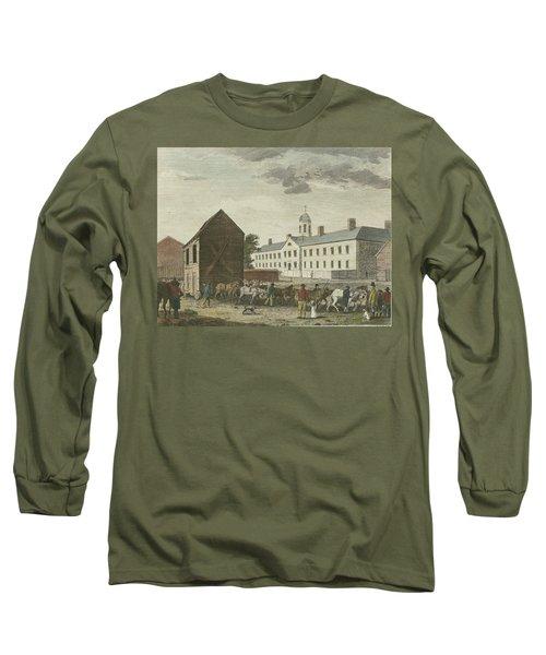 Gaol In Walnut Street Long Sleeve T-Shirt