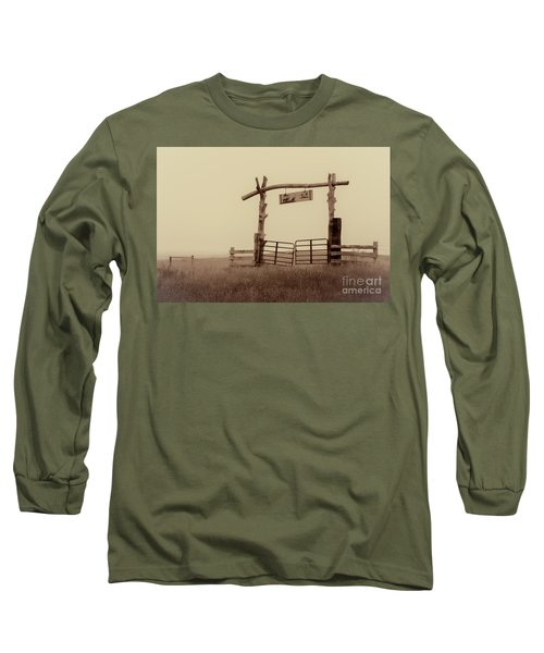Gate In The Wilderness Long Sleeve T-Shirt