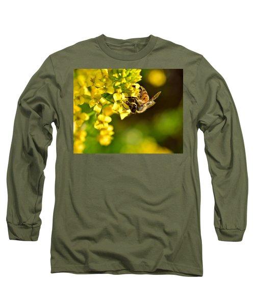 Gathering Pollen Long Sleeve T-Shirt