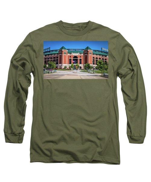 Globe Life Park In Arlington Long Sleeve T-Shirt