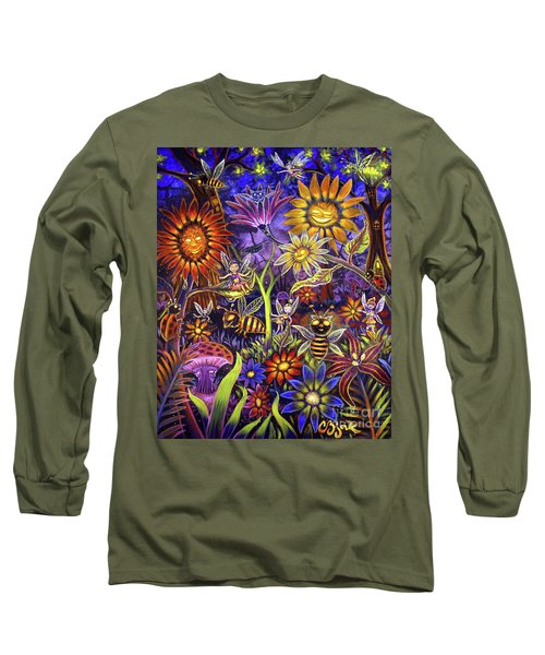 Glowing Fairy Forest Long Sleeve T-Shirt