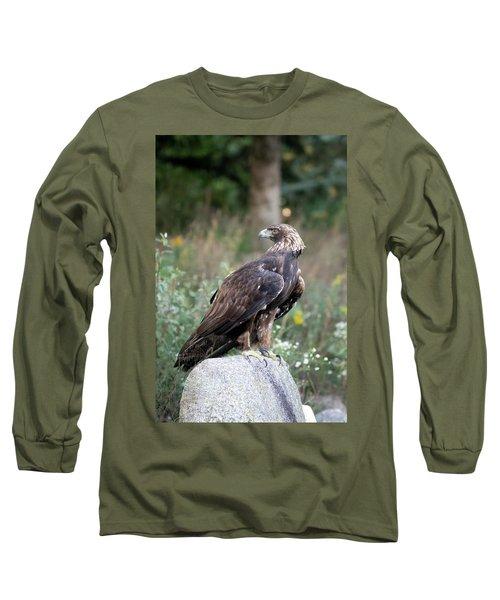 Golden Eagle On Rock 92515 Long Sleeve T-Shirt