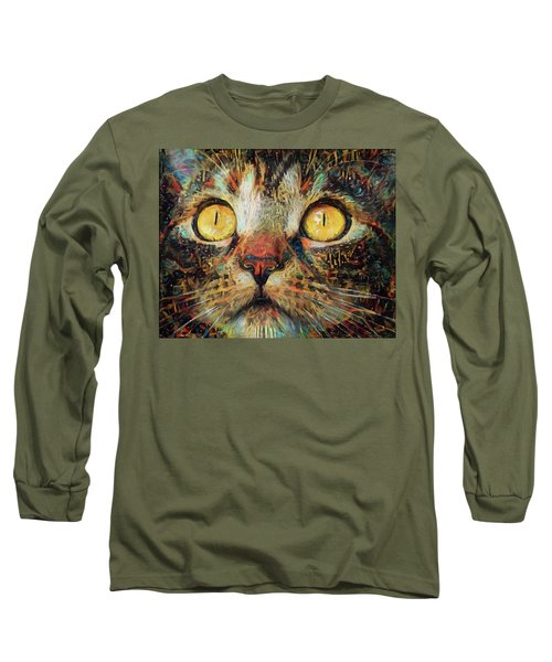 Golden Eyes Dreaming Long Sleeve T-Shirt