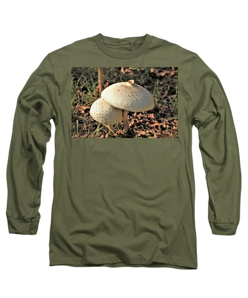 Golden Mushroom Duo Long Sleeve T-Shirt