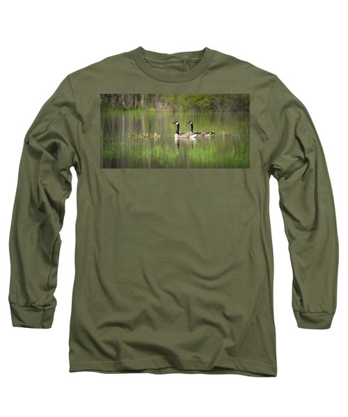 Goose Family #5 Long Sleeve T-Shirt