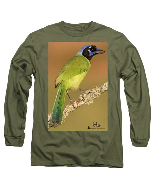 Gorgeous Green Jay Long Sleeve T-Shirt
