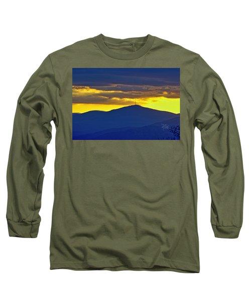 Grandmother Mountain Sunset Long Sleeve T-Shirt