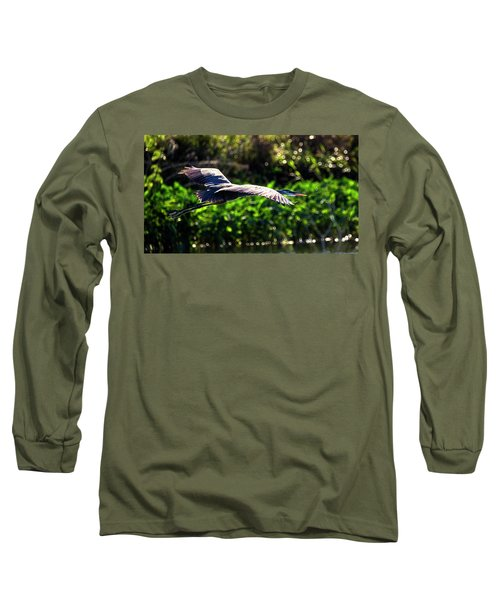 Great Blue Escape  Long Sleeve T-Shirt
