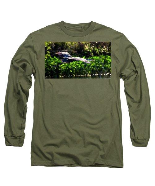 Great Blue Escape  Long Sleeve T-Shirt