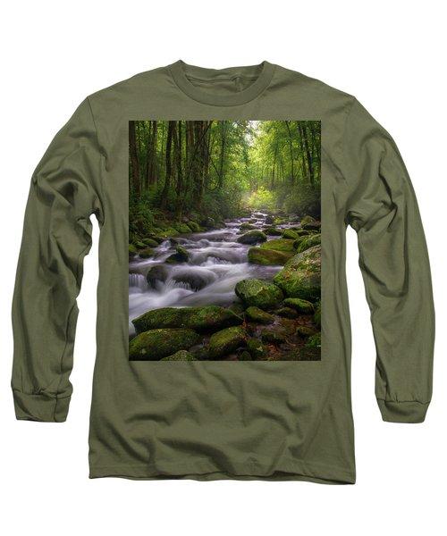 Great Smoky Mountains Gatlinburg Tennessee Long Sleeve T-Shirt