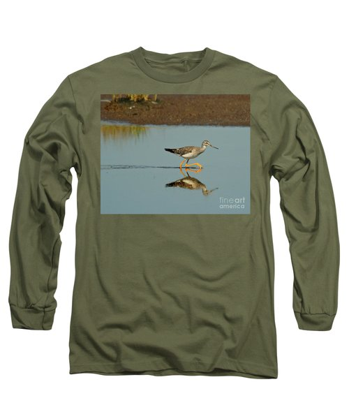 Greater Yellowlegs  Long Sleeve T-Shirt