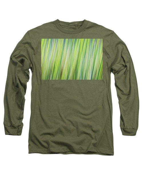 Green Grasses Long Sleeve T-Shirt