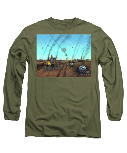 Ground Battle Long Sleeve T-Shirt