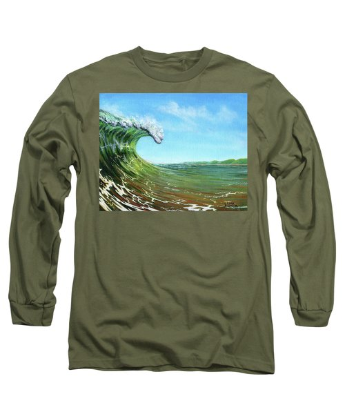 Gulf Of Mexico Surf Long Sleeve T-Shirt