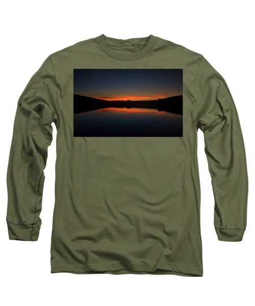 Sunset In The Reservoir Long Sleeve T-Shirt