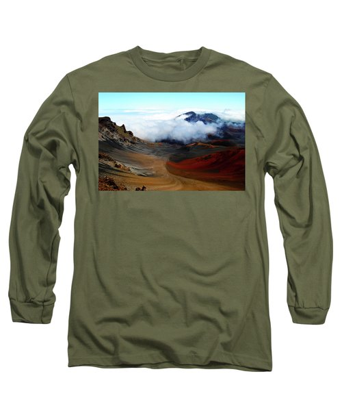 Haleakala Crater Long Sleeve T-Shirt