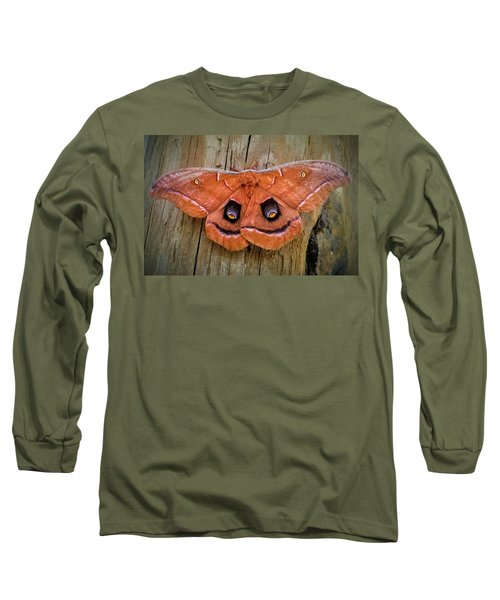 Halloween Moth Long Sleeve T-Shirt