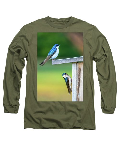 Happy Home Long Sleeve T-Shirt