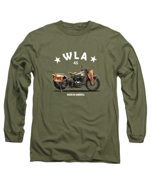 Harley-davidson Wla 1942 Long Sleeve T-Shirt