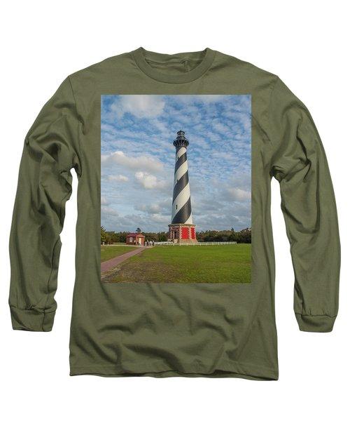 Hatteras Lighthouse Long Sleeve T-Shirt