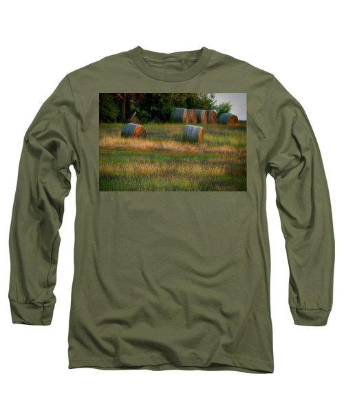 Hay Bales Long Sleeve T-Shirt
