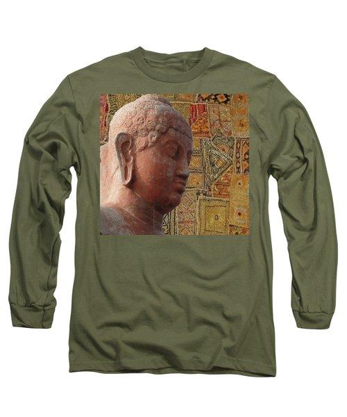 Head Of Buddha,  Long Sleeve T-Shirt