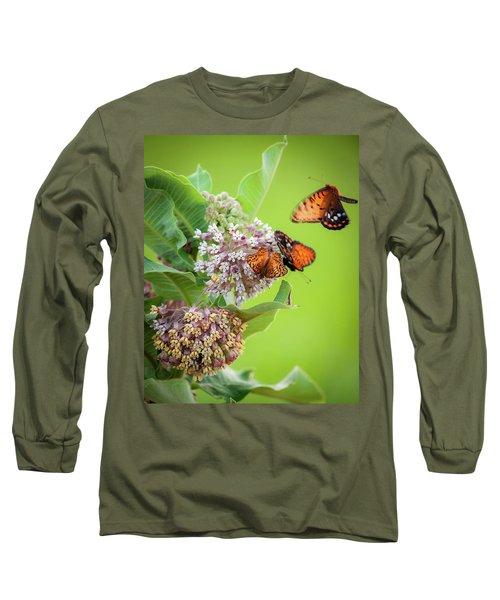 Head Over Heals For Milkweed Long Sleeve T-Shirt