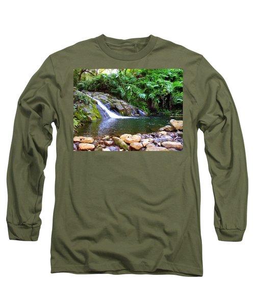 Healing Pool - Maui Hawaii Long Sleeve T-Shirt