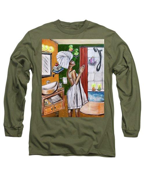 Her Prayer Long Sleeve T-Shirt